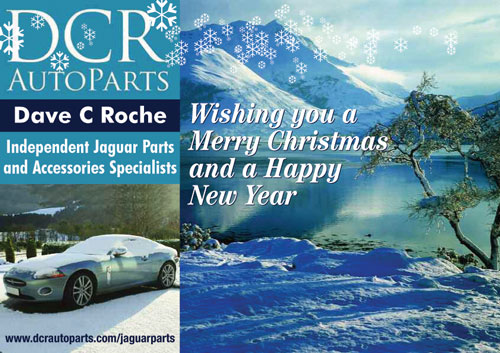Merry Xmas and a Happy New Year from DCR Jaguar Parts